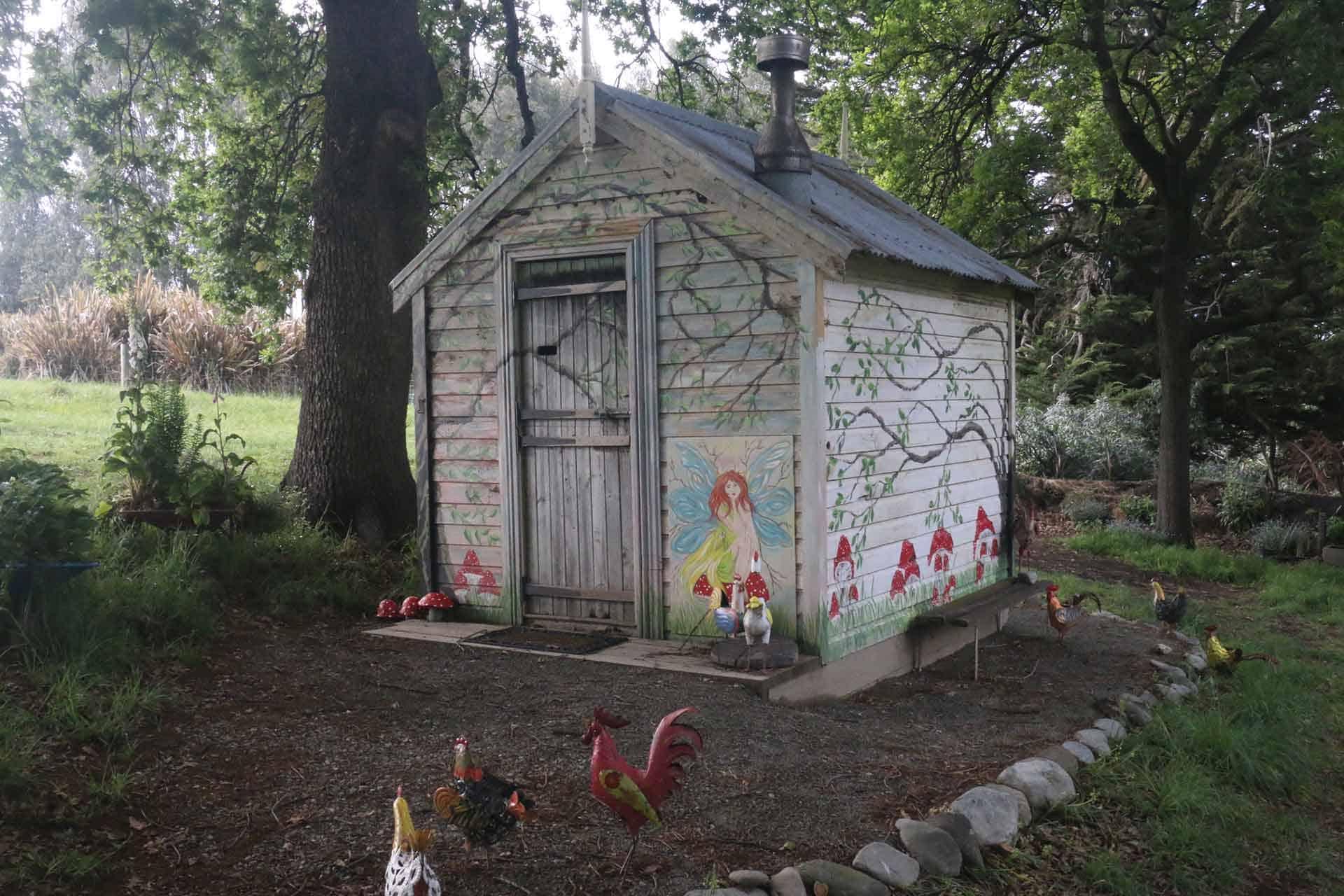 Brookfield Park Gardens Fairy House